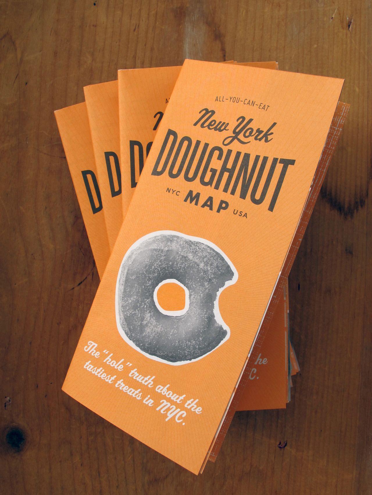 The New York doughnut map including 35