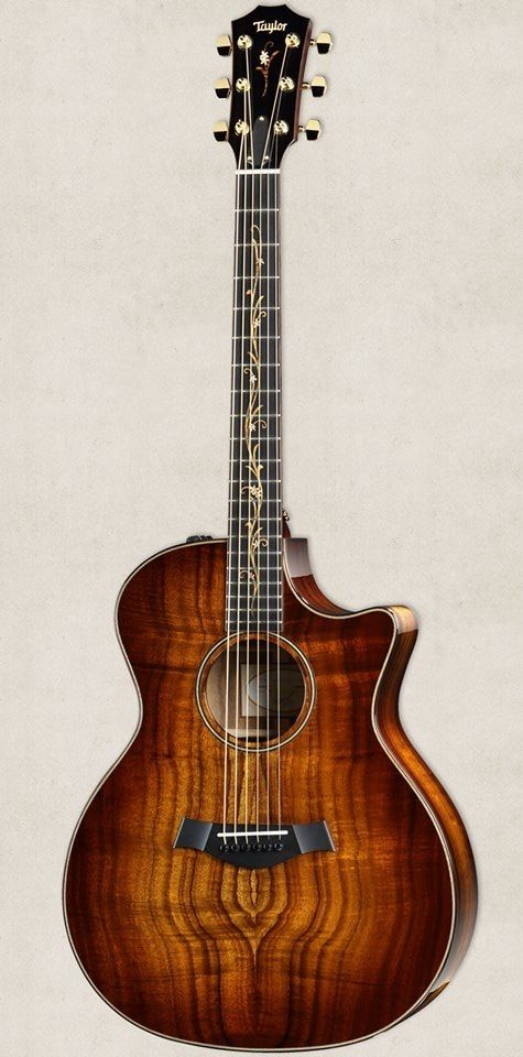 Really Wanting This K24ce Taylor Guitar Right Now It Has A Bright And Focused Voice Warm Overtones And A Lot Guitar Acoustic Electric Guitar Acoustic Guitar