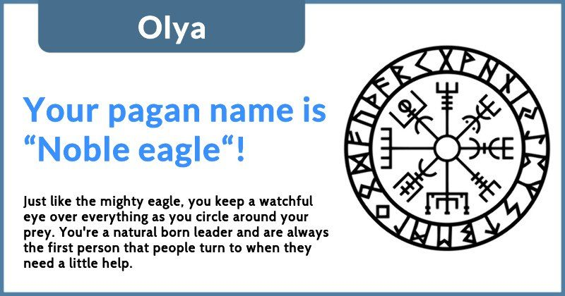What is your pagan name?