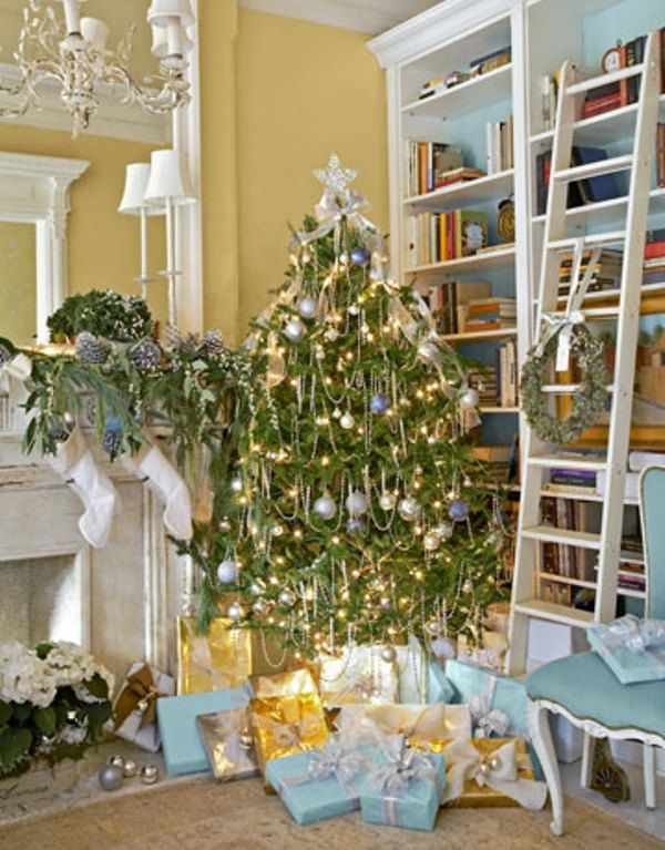 Cool Ideas To Decorate For Christmas In Blue DigsDigs Xmas Trees