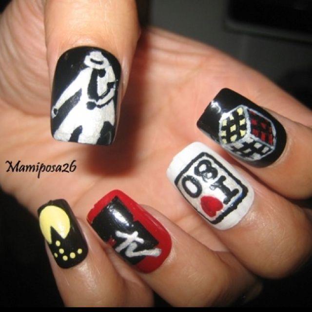 80\'s nails! | Nails | Pinterest