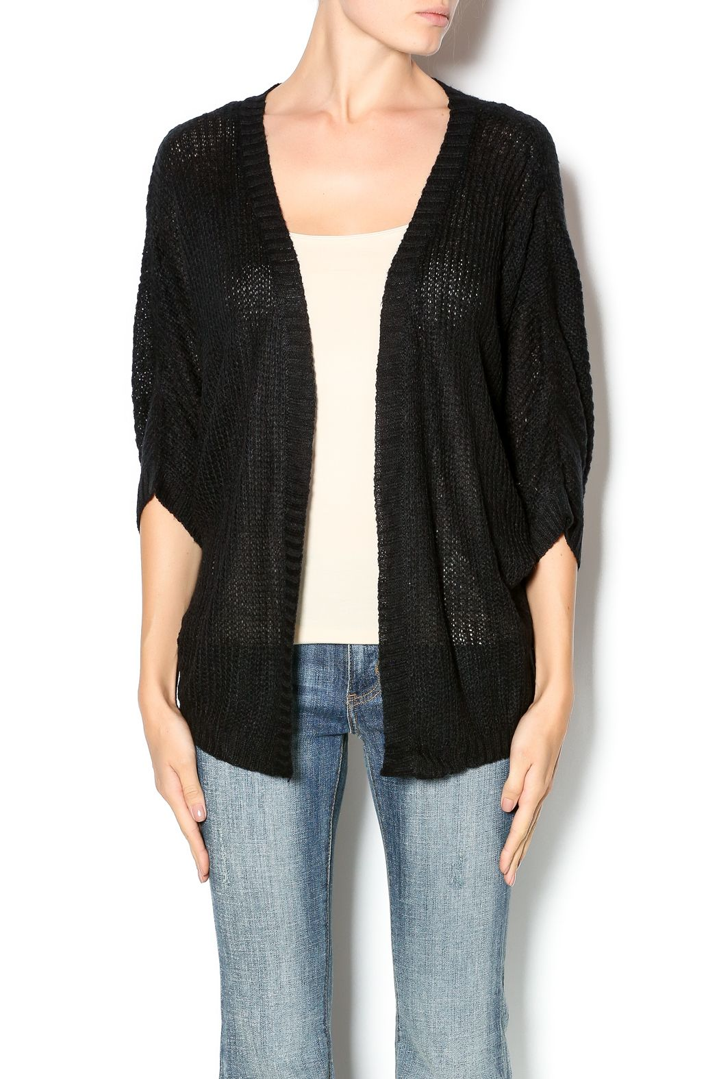 Finesse Black Sweater Cardigan | Products, To the and Clothing