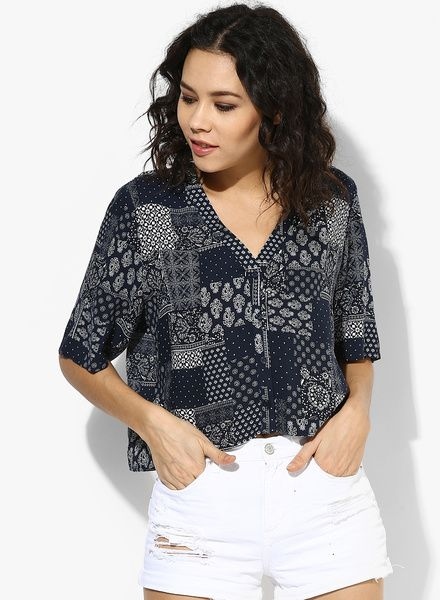 15a8edca776e Buy TOPSHOP Bandana Holly Shirt for Women Online India, Best Prices,  Reviews | TO201WA81UXEINDFAS