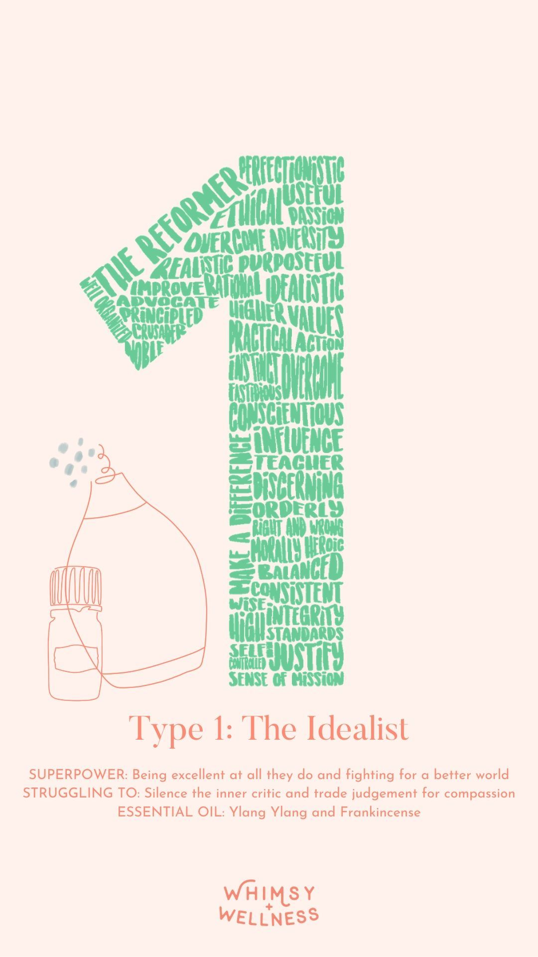 What Your Enneagram Type Says About The Essential Oils You Need - Type 1: The Idealist