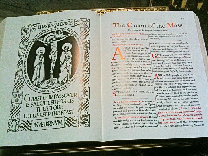 Anglican Book Of Common Prayers Stephen S Church Philadelphia