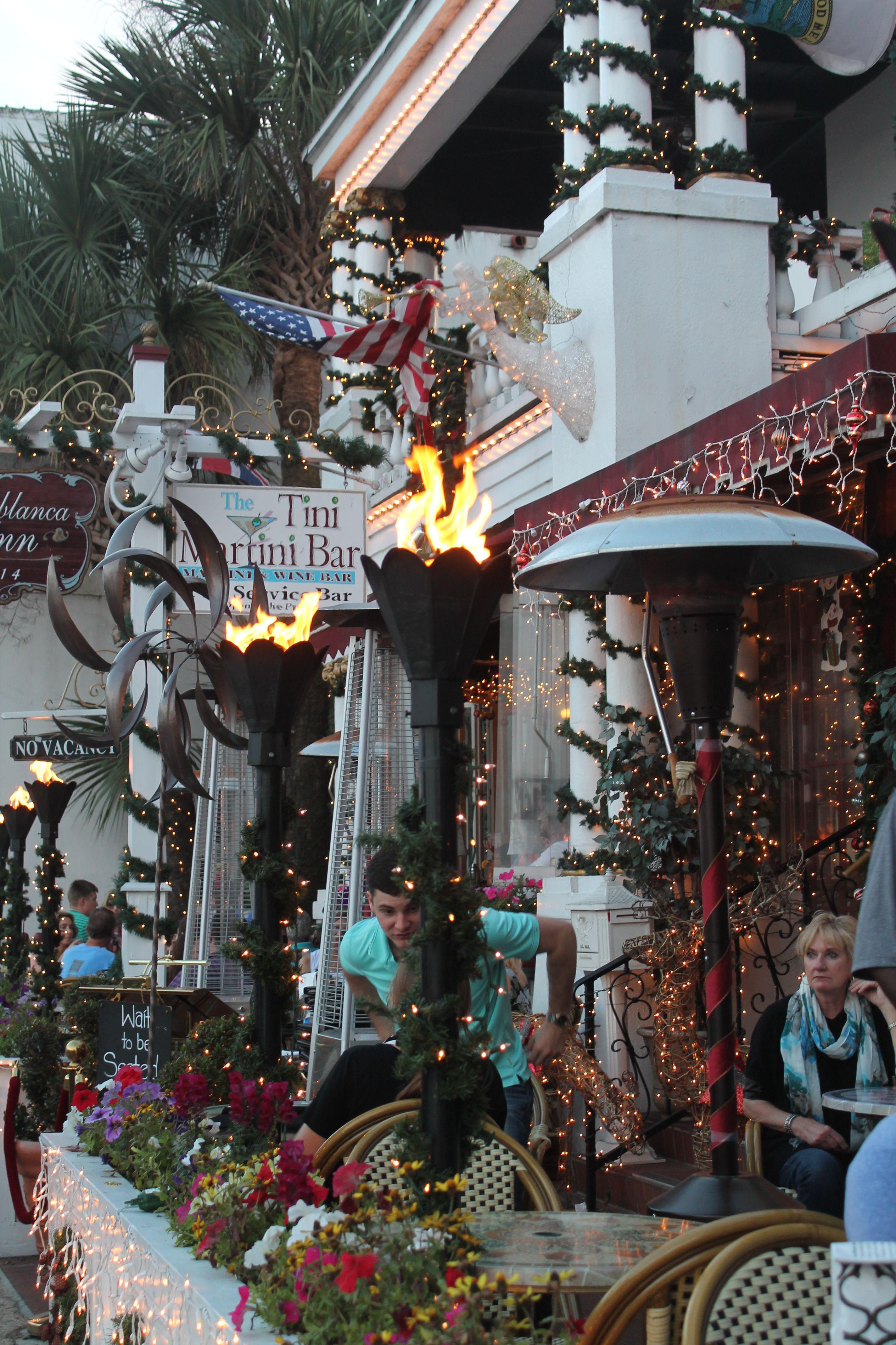 The Tini Martini Bar St Augustine Florida Dec 28 2014 Travel Luna De Miel Vacaciones