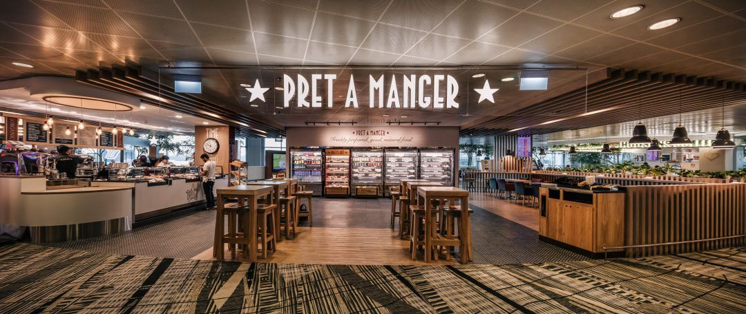 Pret A Manger Store 1 Pret A Manger Restaurant Design Restaurant