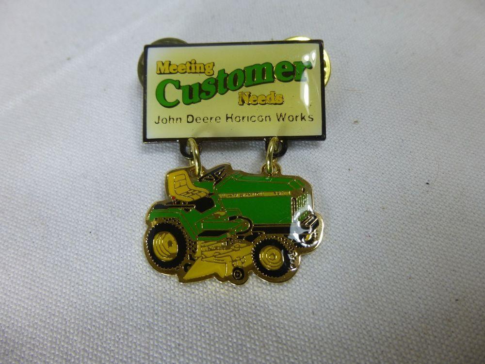 FARM MACHINERY LAPEL PIN JOHN DEERE