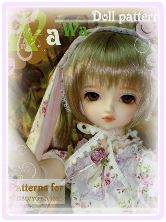 WaWa Doll Pattern Book VOL.1