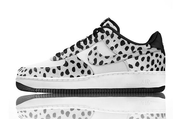 nike air force animal print