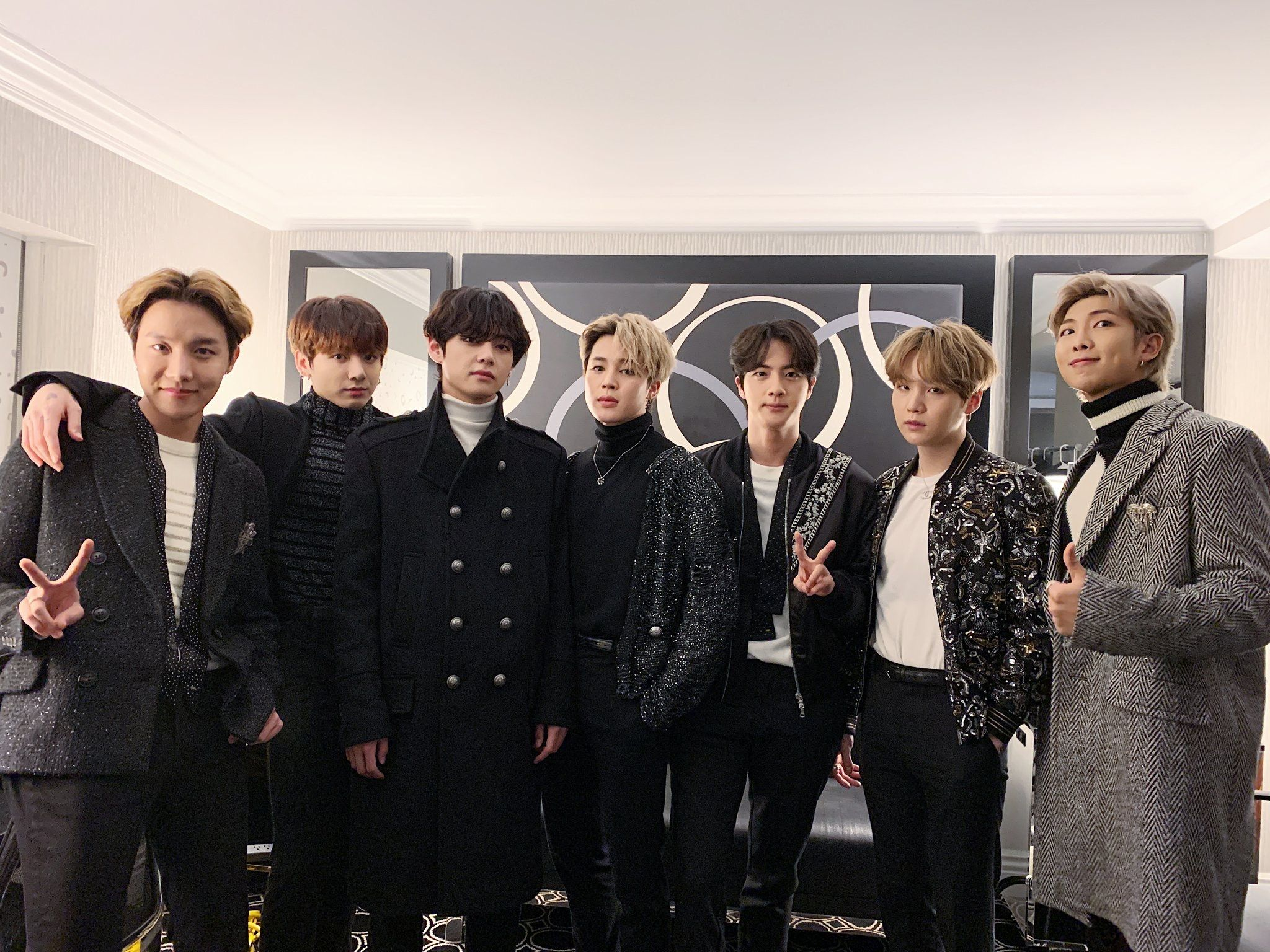 BTS Times Square New Years Rockin' Eve 2020 in 2020
