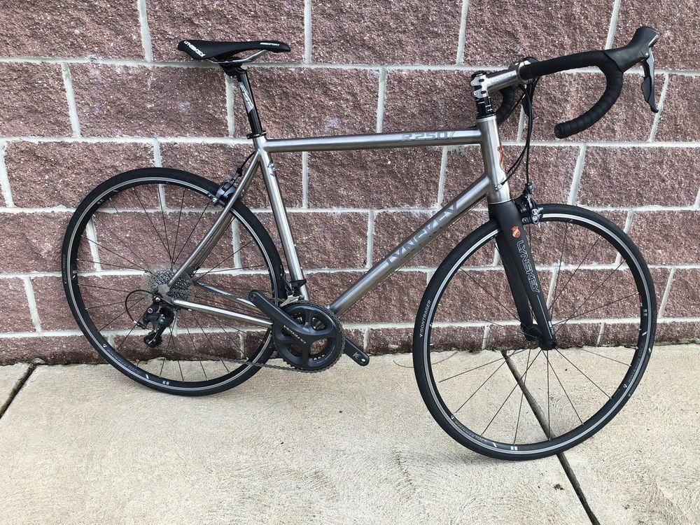 Lynskey Titanium R250 Road Bike 57 Cm Full Ultegra Carbonroadbike