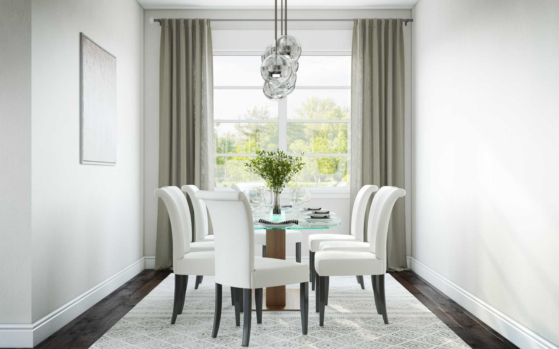 Contemporary Modern Midcentury Modern Dining Room Design By Havenly Interior Designe Dining Room Design Interior Design Dining Room Dining Room Design Modern