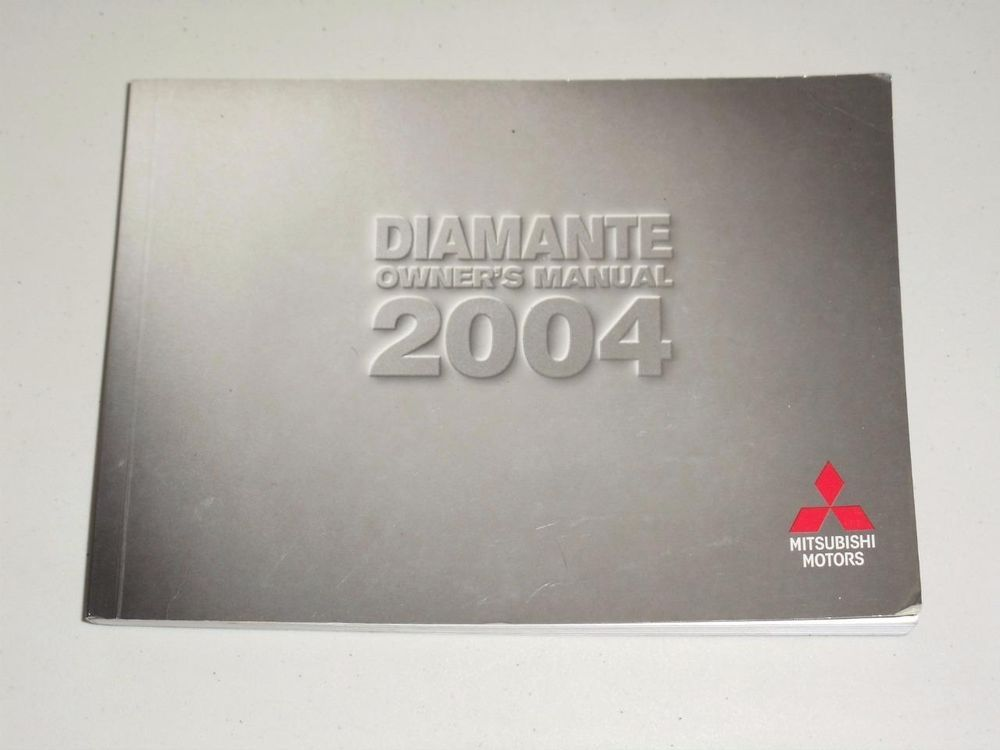 2004 mitsubishi diamante owners manual book guide owners manuals 2004 mitsubishi diamante owners manual book guide fandeluxe Images