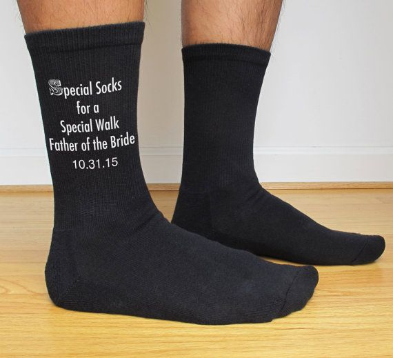 Mens Wedding Party Gifts: Father Of The Bride Gift Socks, Special Socks For A