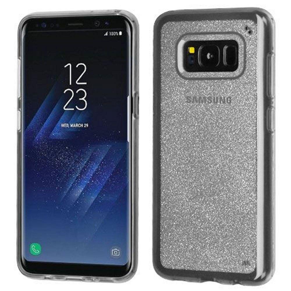 Mybat For Samsung Galaxy S8 Plus Clear Glitter Rubber Case Samsung Galaxy Samsung Galaxy S8