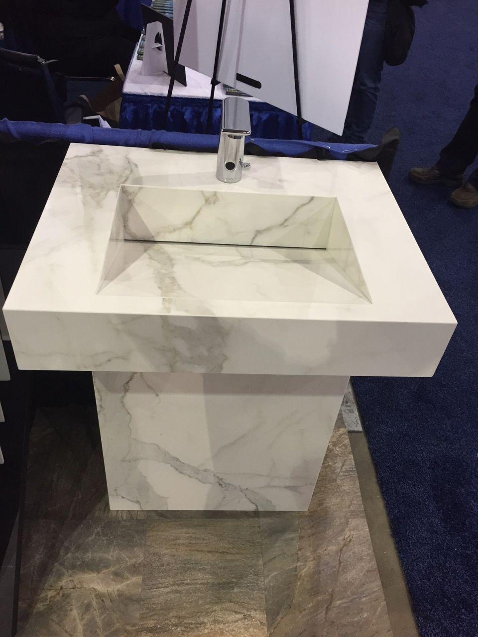 slim slab sink project architectural ceramics slim slab