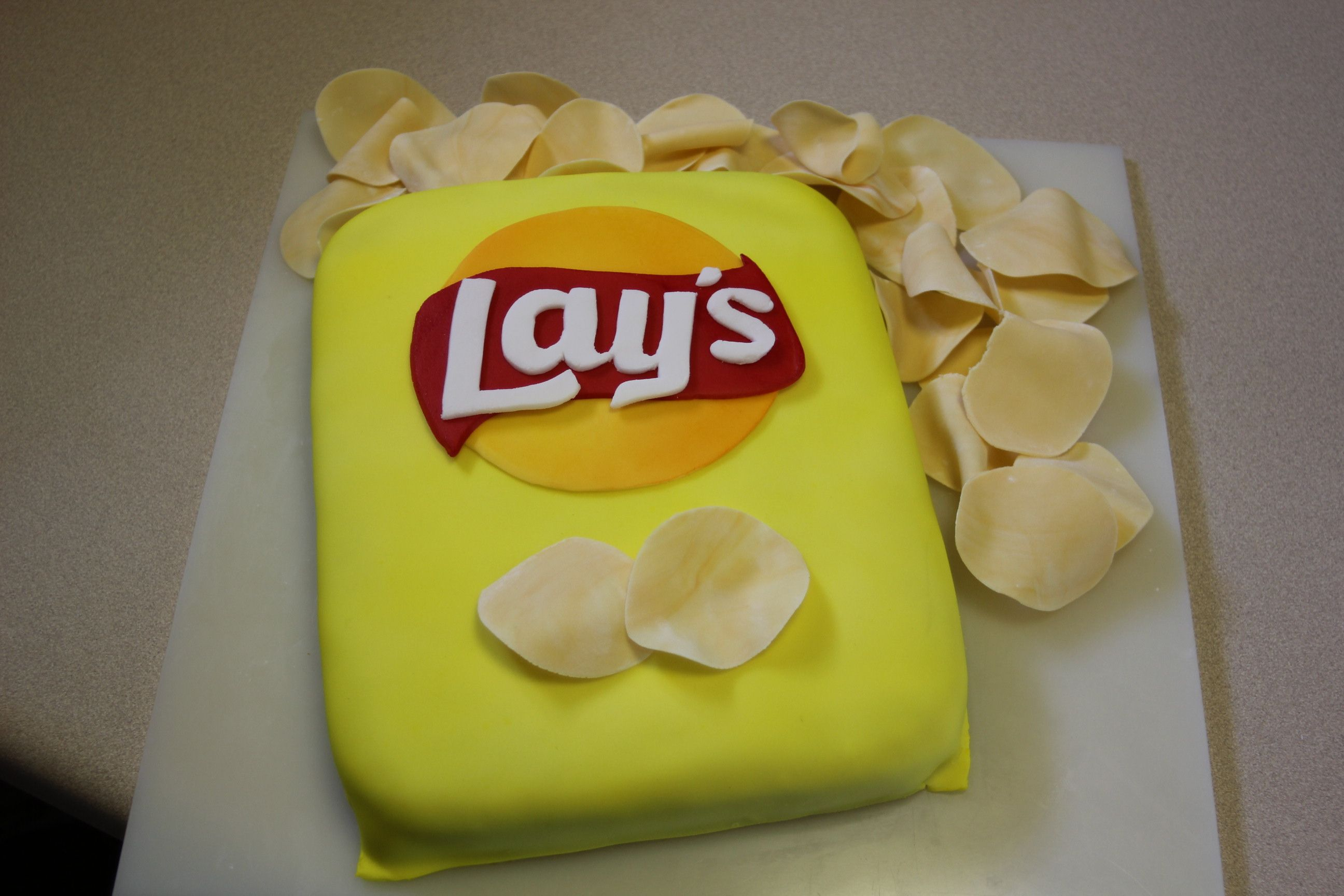 Image result for lays theme cake