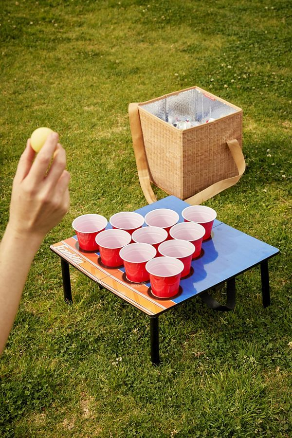 10Cup Pong Game in 2019 Pong game, Carnival games for