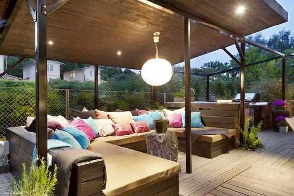 Décoration extérieur pour balcon et véranda en 62 idées | Pergola ...