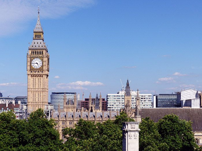 "https://flic.kr/p/VrkxHS | Big Ben | Big Ben is the nickname for the Great Bell of the clock at the north end of the Palace of Westminster in London and is usually extended to refer to both the clock and the clock tower as well. The tower is officially known as Elizabeth Tower, renamed to celebrate the Diamond Jubilee of Elizabeth II in 2012; previously, it was known simply as the Clock Tower. When completed in 1859, it was, says clockmaker Ian Westworth, ""the prince of timekeepers: the…"