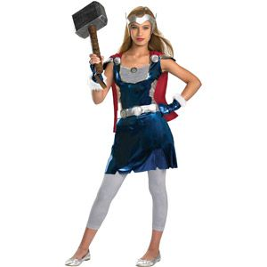 Thor Girl Tween Halloween Costume