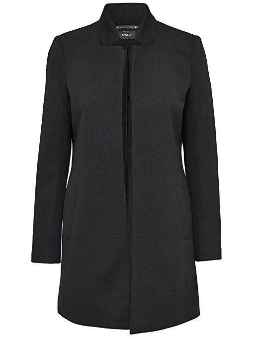 21371d9babf2 ONLY Damen Mantel Jacke SOHO LIGHT MELANGE COATIGAN Trenchcoat ...