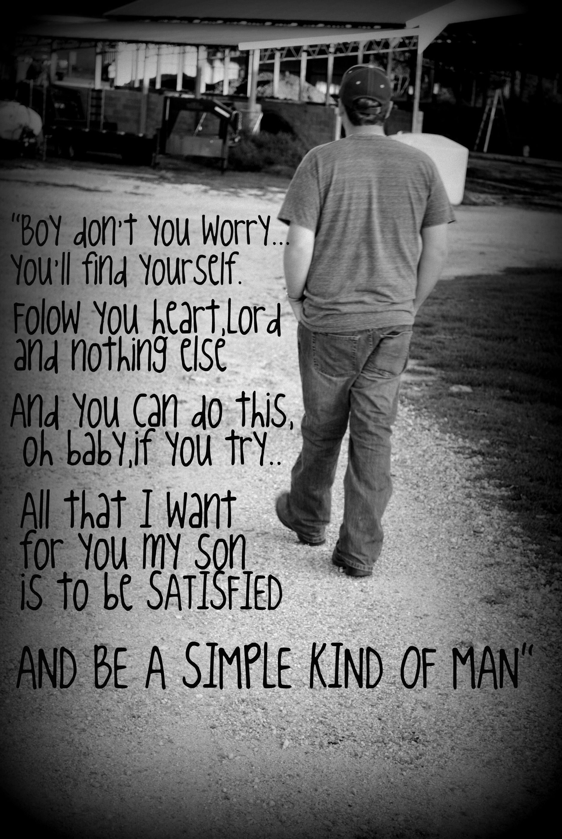 Simpleman lyrics