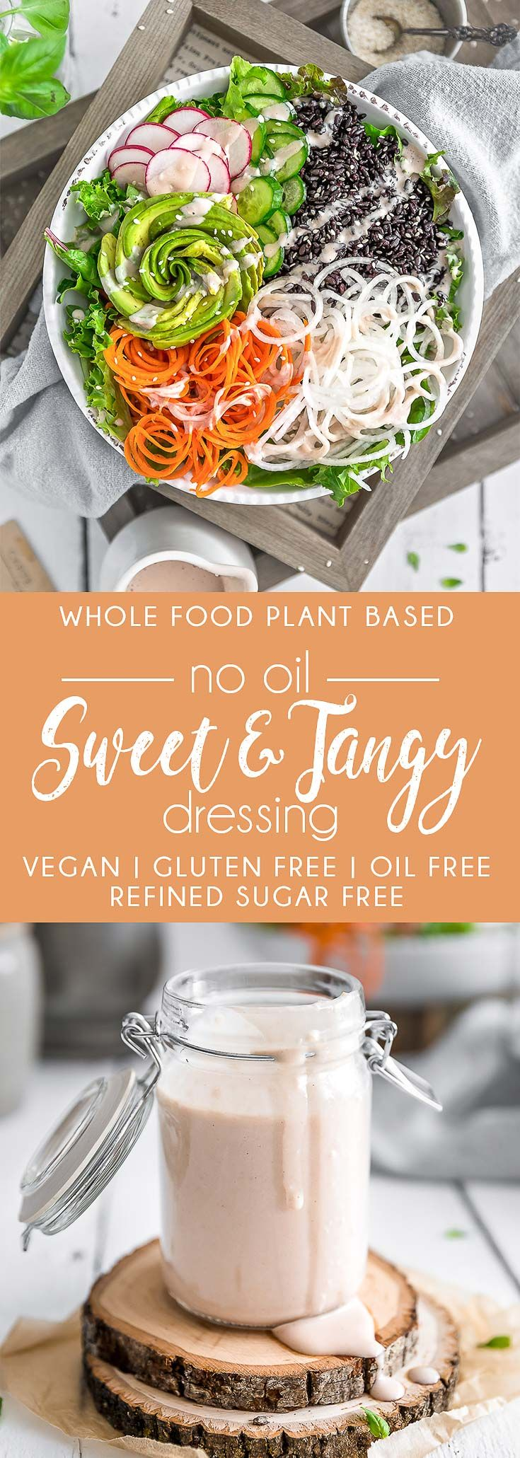 No Oil Sweet And Tangy Dressing