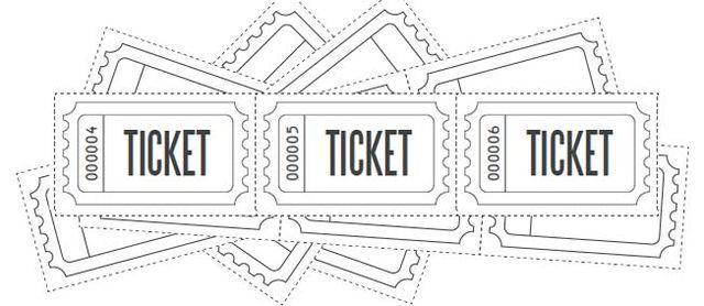 Customized Raffle Ticket Blanks Free Printables Online Printable Tickets Raffle Tickets Printable Raffle Ticket Template Free