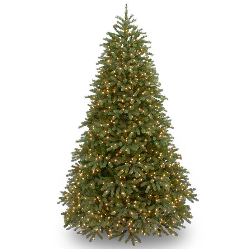 National Tree Company 75-ft Pre-Lit \u0027\u0027Feel Real\u0027\u0027 Jersey Frasier