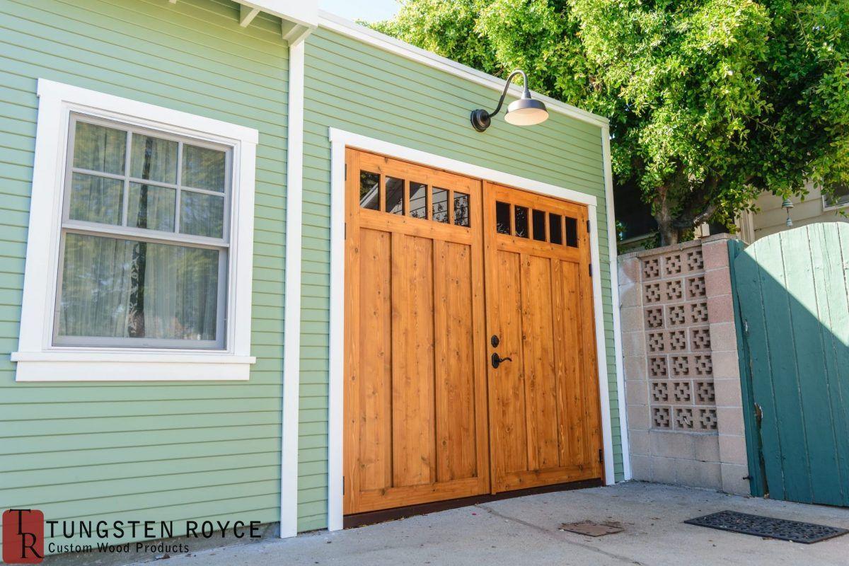Highland Park Project Tungsten Royce Carriage Doors Garage Door Design Garage Door Makeover