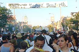The Taste of the Danforth is held every year in the month of August and is one of Canada's largest street festival welcoming over 1 million people. Toronto's favourite street festival is a weekend event that runs for 3 days and celebrates the fun and flavours of Greece.
