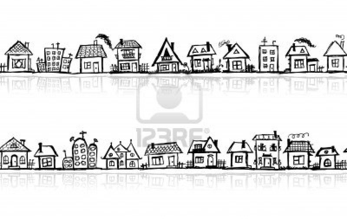 Lovely little rows of houses uc sketch inspo pinterest sketches