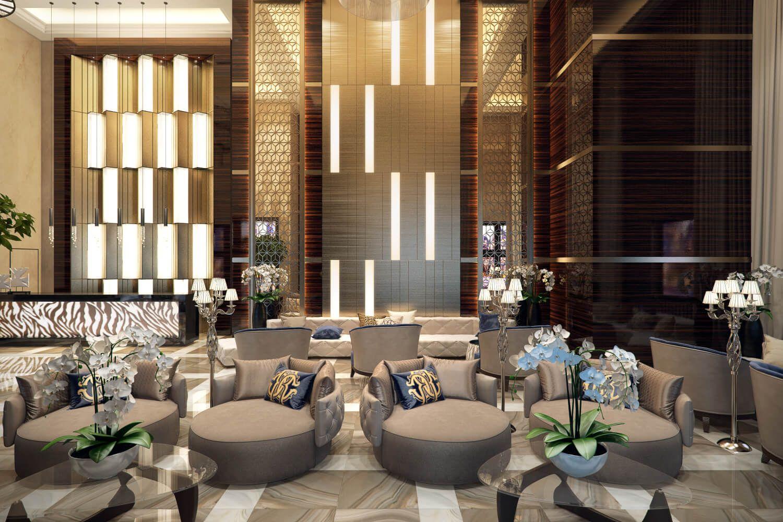 Commercial Interior Design Rendering Elegant Luxury Commercial Interiors Commercial And Lobbies