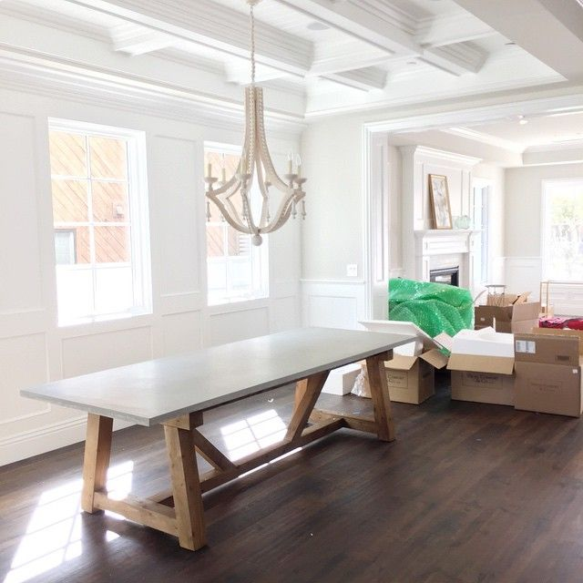 """The start of a really great dining room. #smdpalisadesproject"""
