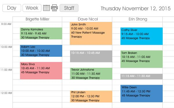 See how a nice-looking rich-featured scheduling system can
