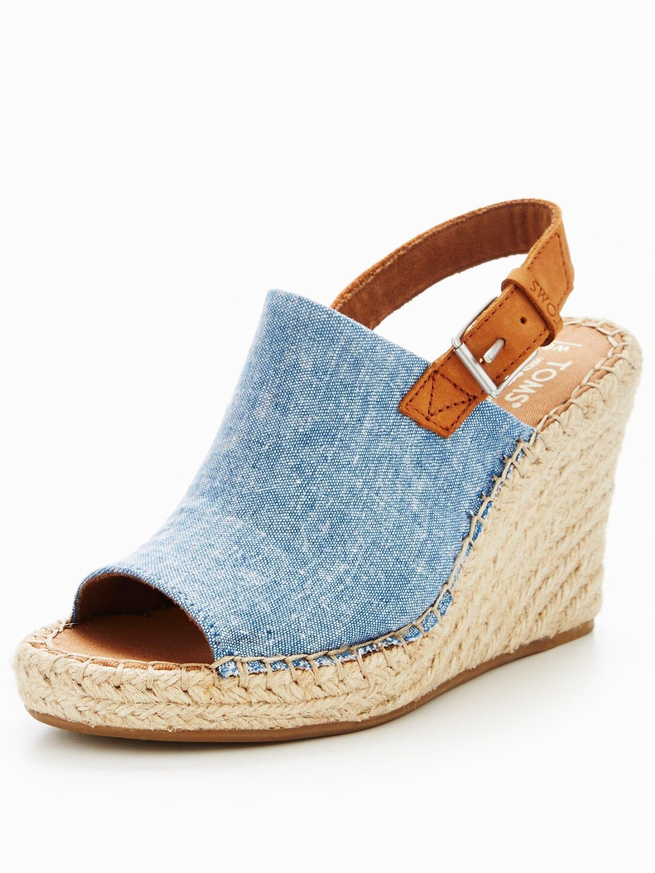 43008c1c7547 Bringing your love of denim through to your shoe-drobe this summer ...