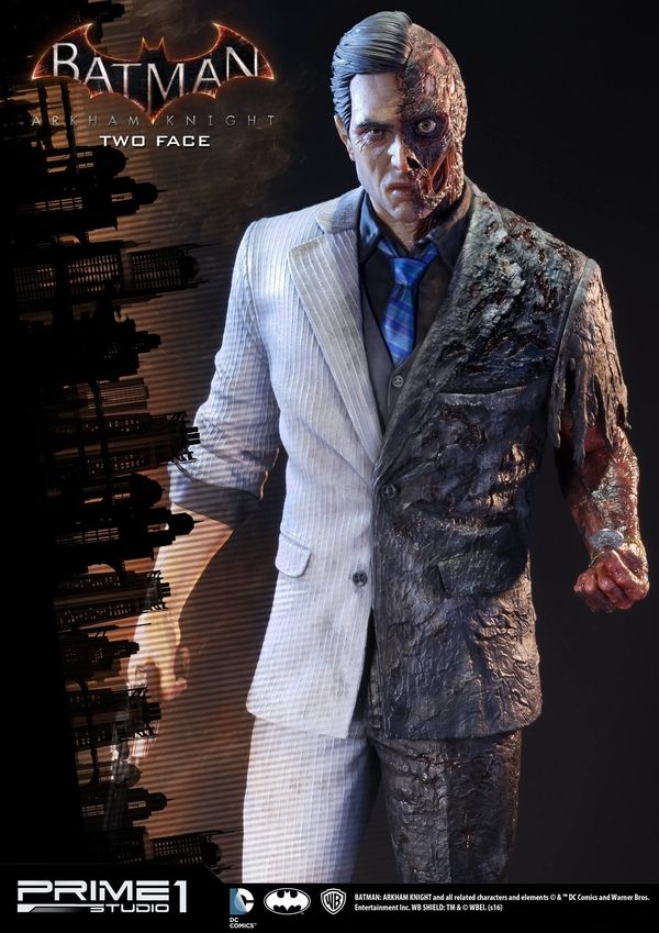 Batman Arkham Knight Two Face Statue From Prime 1 Studio With