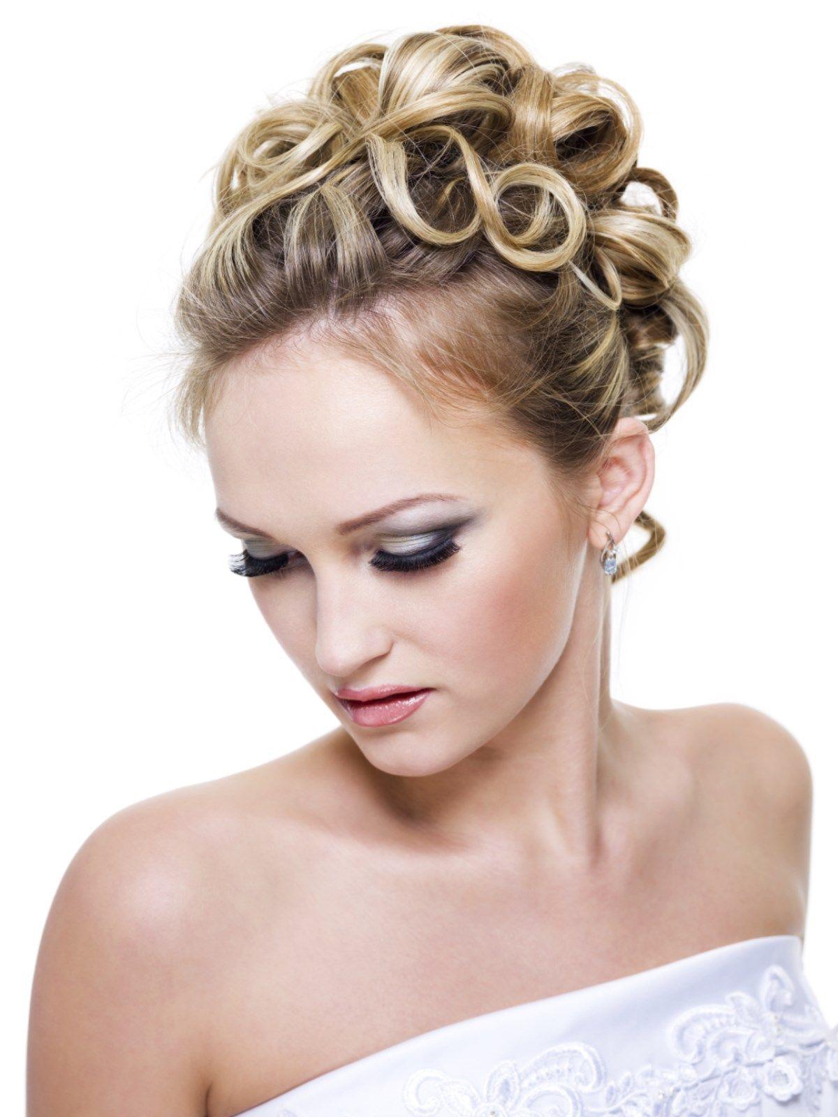 Libanesische Hochzeitsfrisur Makeup Haare Hochsteckfrisuren