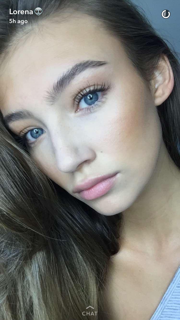 Lorena Rae || Snapchat (September 6, 2016) | スーパーモデル, モデル, メイク