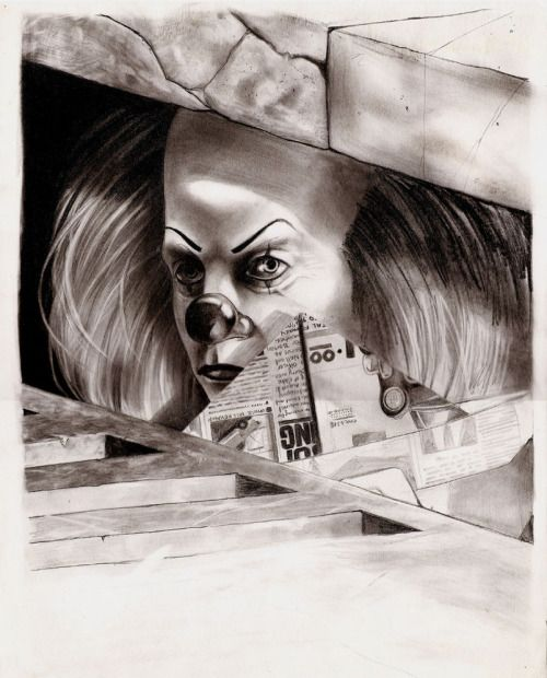 Pin By Jane Reding On Janieruthsfinds: PENNYWISE By Willman1701