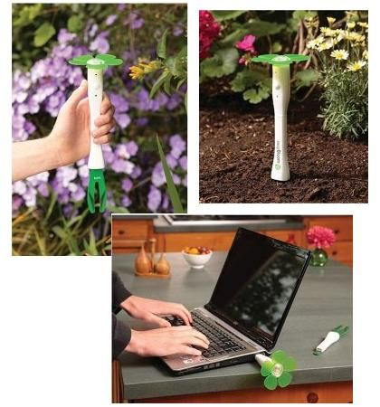 EasyBloom for the perfect garden.   Step 1. Stick it in the ground  Step 2. Plug it into your computer  Step 3. Do what it says  Result: perfect garden.