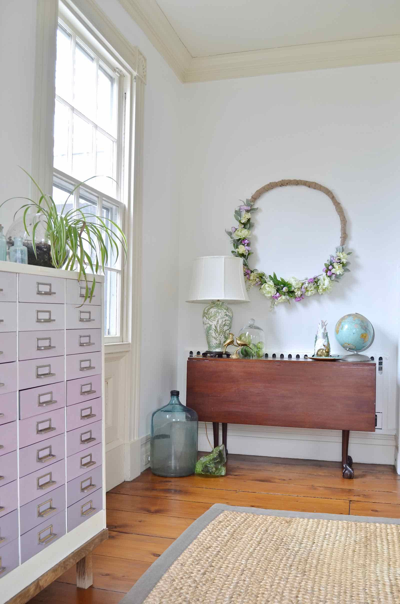 Spring Home Tour  Greens And Blues
