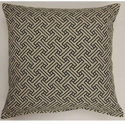Creative Home Stencil Oceanside Throw Pillow   Wayfair
