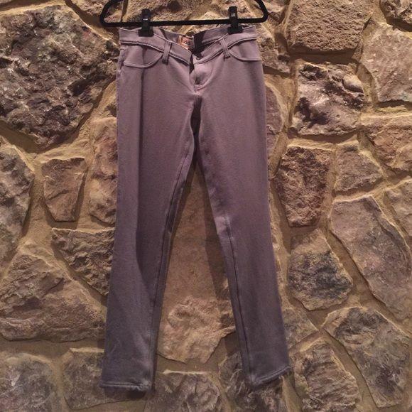"""Mudd"" knit Jean-like leggings ""Mudd"" knit Jean-like leggings, size 9- earthy gray color- great condition- no signs of wear Mudd Pants Leggings"