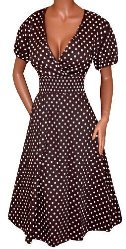 FUNFASH BLACK WHITE POLKA DOTS ROCKABILLY WRAP DRESS NEW Plus Size 1X 18 20 Made in USA Funfash,http://www.amazon.com/dp/B009NMSNRS/ref=cm_sw_r_pi_dp_jXdsrb0Q8ZTJV0H9