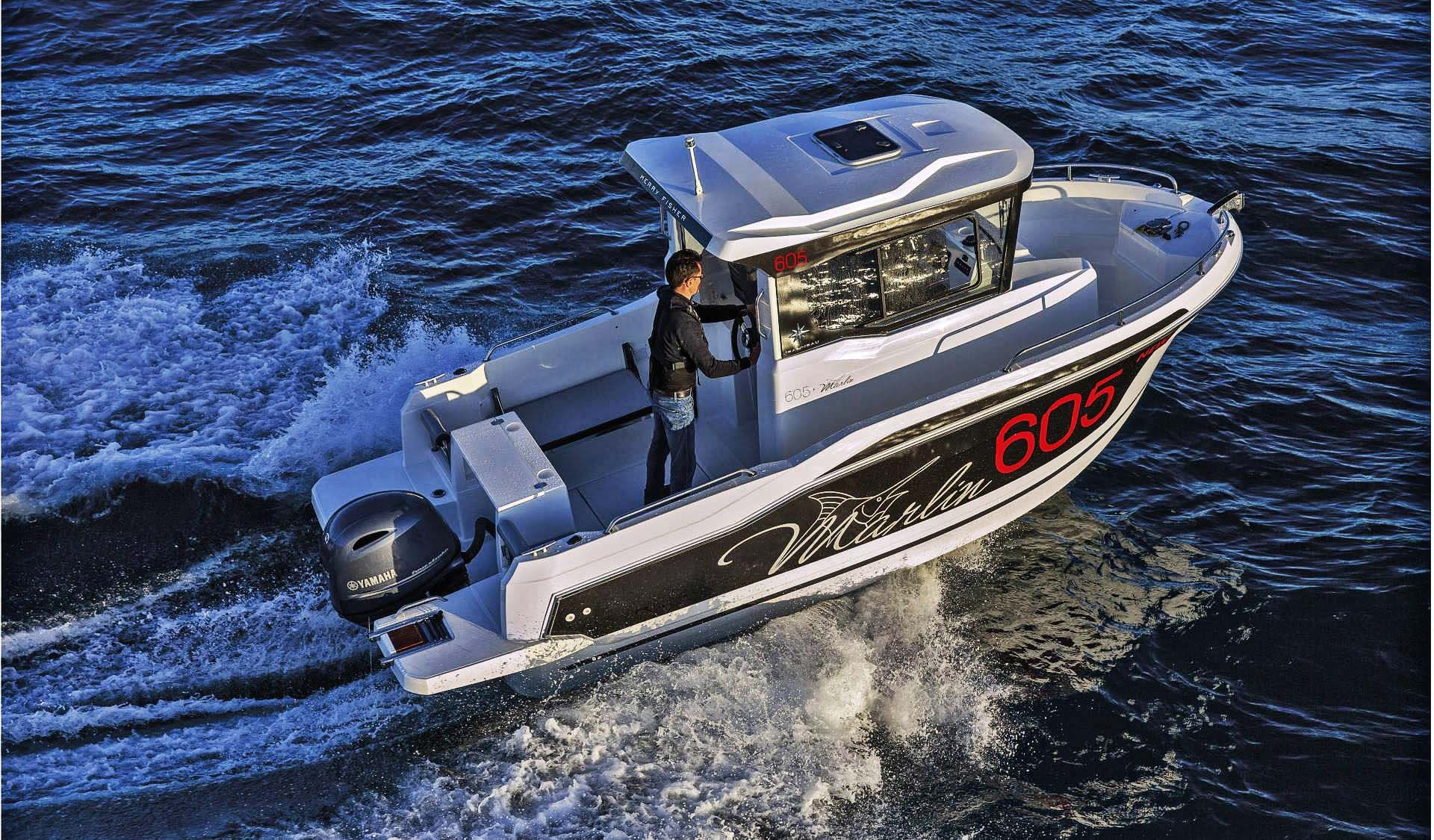 Merry Fisher 605 Marlin in 2020 Motor boats