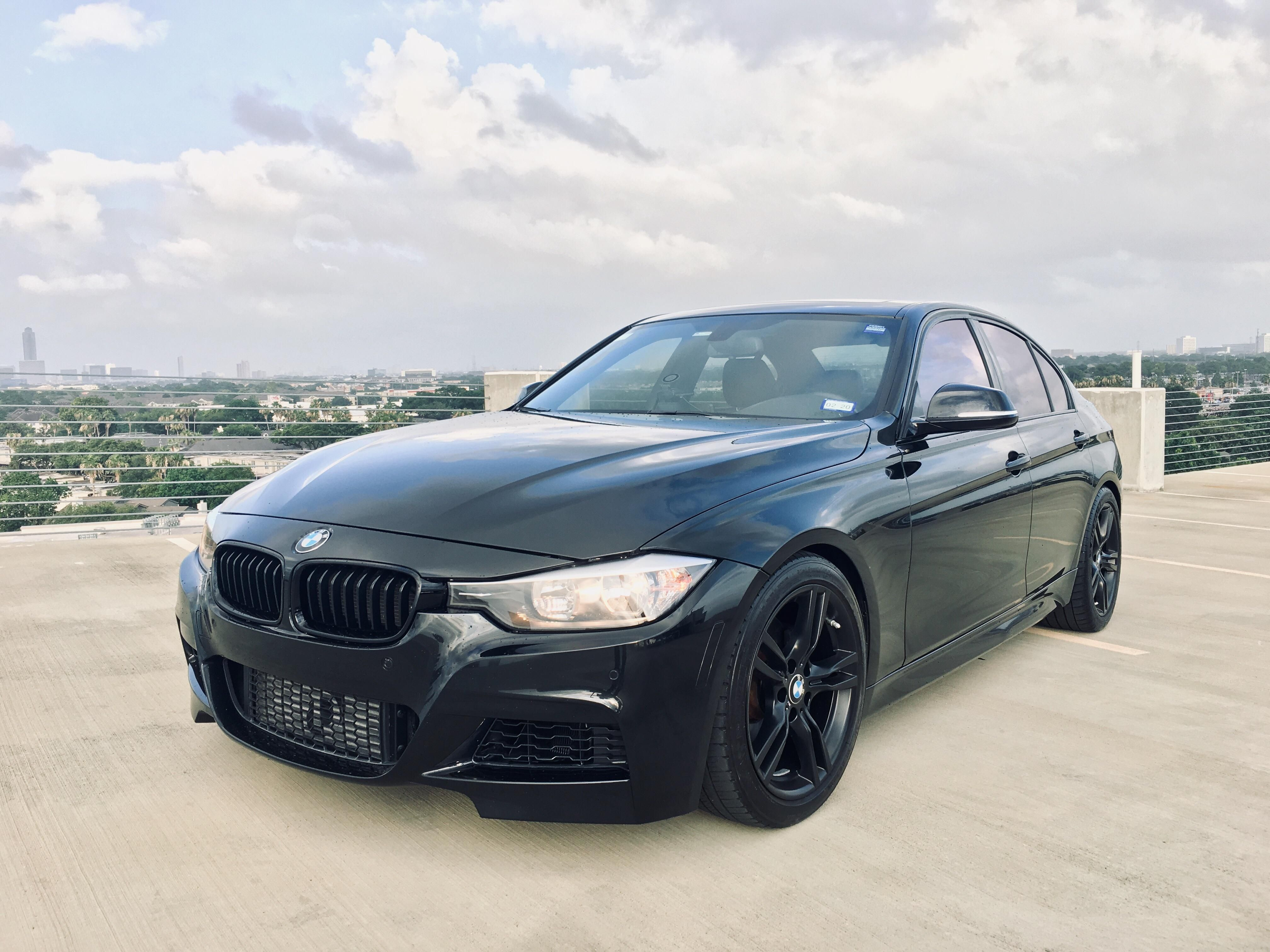 What Do You Guys Think About The 400m In Satin Black On A Bsm F30 Bmw Black Wheels Bmw Wagon