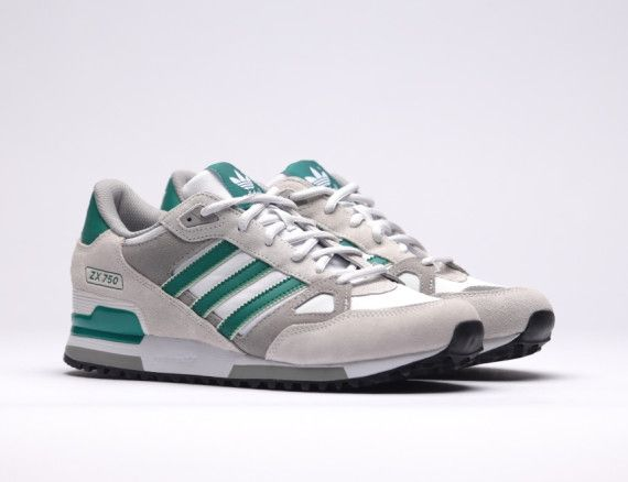 ee511ba7a8087 adidas Originals ZX 750 White Green